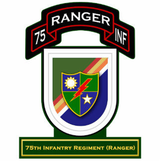 75th Infantry Regiment - Rangers Cutout