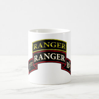 75th Ranger 1st Battalion w/Tab Coffee Mug