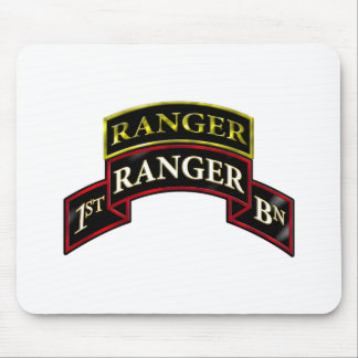 75th Ranger 1st Battalion w/Tab Mouse Pad