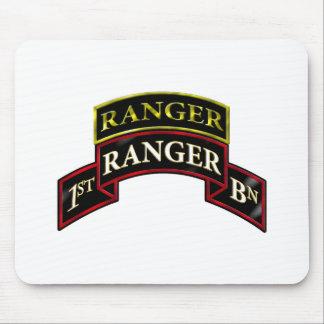 75th Ranger 1st Battalion w/Tab Mouse Pad