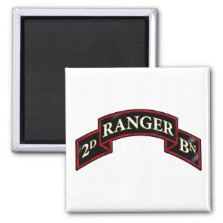75th Ranger 2nd Battalion Fridge Magnets