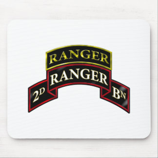 75th Ranger 2nd Battalion w/Tab Mouse Pad