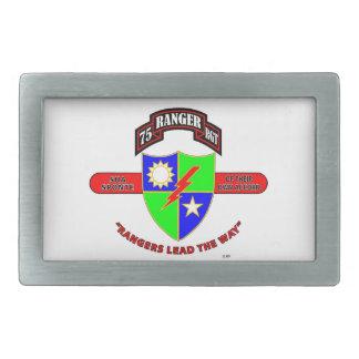 "75TH RANGER BATTALION ""ARMY RANGERS"" RECTANGULAR BELT BUCKLE"