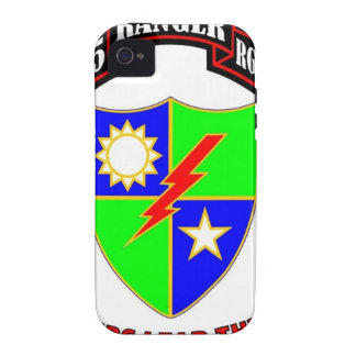 """75TH RANGER BATTALION """"ARMY RANGERS"""" VIBE iPhone 4 COVERS"""