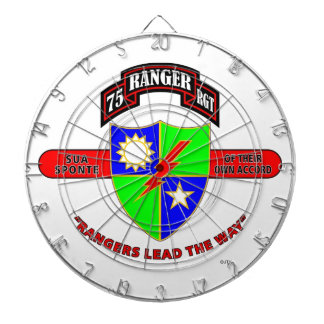 "75TH RANGER BATTALION ""ARMY RANGERS"" DART BOARD"