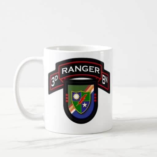 75th Ranger Regiment, 3d Bn - Airborne 1 Coffee Mugs