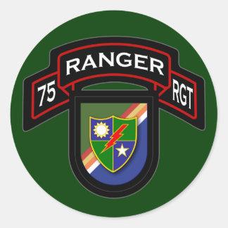 75th Ranger Regiment - Airborne Classic Round Sticker
