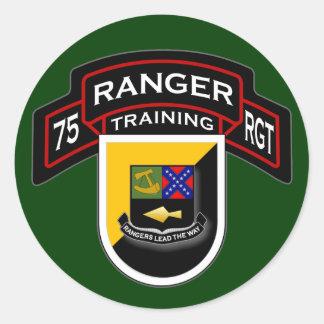 75th Ranger Regiment - Airborne - Training 1 Classic Round Sticker