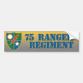 75th Ranger Regiment Car Bumper Sticker