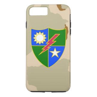 """75th Ranger Regiment DUI """"Desert Camo"""" iPhone 8 Plus/7 Plus Case"""