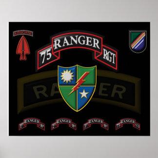 75th Ranger Regiment Poster