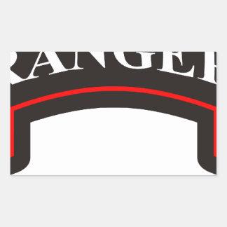 75th Ranger Regiment Rectangular Sticker