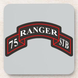 75th Ranger Regiment Special Troops Battalion Drink Coaster