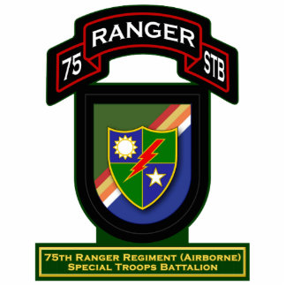 75th Ranger Rgt - Airborne - Special Troops Bn Cutout