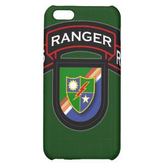 75th Ranger Rgt - scroll & flash iPhone 5C Case
