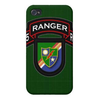 75th Ranger Rgt - scroll & flash iPhone 4 Case