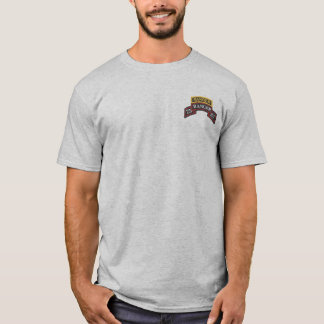 75th Ranger SSI, Ranger Tab, + WWII Diamond T-shir T-Shirt