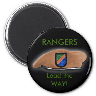 75th rangers patch veteran ww2 magnet beret flash