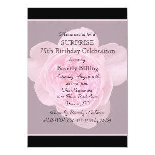 surprise 75th birthday invitations zazzle