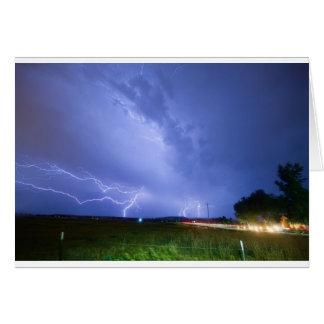75th_woodland_lightning_thunderstorm_view.jpg greeting card