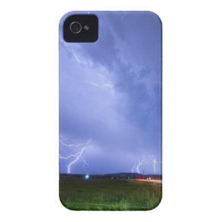 75th_woodland_lightning_thunderstorm_view.jpg iPhone 4 case
