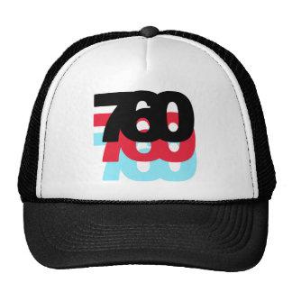 760 Area Code Hats