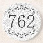762 Area Code Drink Coaster