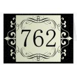 762 Area Code Greeting Card