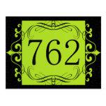 762 Area Code Post Card