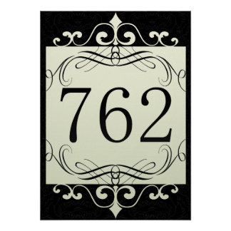 762 Area Code Posters