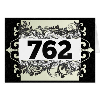 762 GREETING CARD