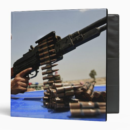 762 mm rounds lie on the truck binders