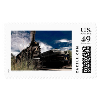 765 and 800 Cuyahoga Valley Scenic Railroad Postage Stamp