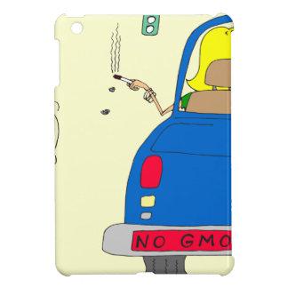 765 No GMO smoking lady iPad Mini Cases