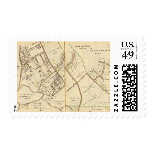 7677 Bronxville, East Chester Stamps