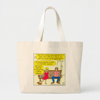767 your little faults large tote bag