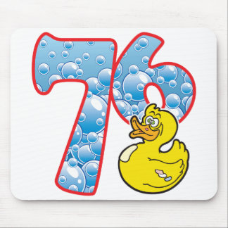 76 Age Duck Mouse Pad