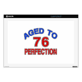 """76 Aged To Perfection 17"""" Laptop Skins"""