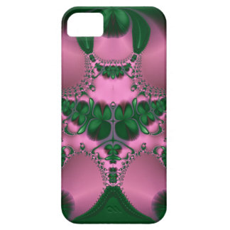 76 Clover Garden Abstract Pink/Green by EML iPhone SE/5/5s Case