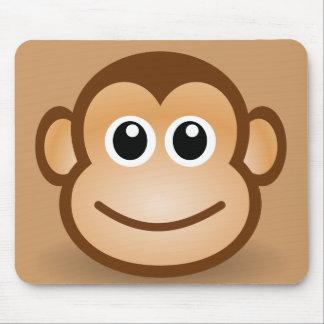 76-Free-Cute-Cartoon-Monkey-Clipart-Illustration Alfombrillas De Ratón