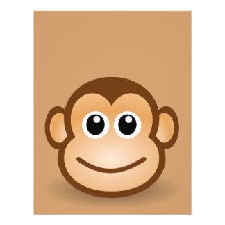 76-Free-Cute-Cartoon-Monkey-Clipart-Illustration Flyer