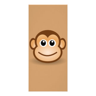 76-Free-Cute-Cartoon-Monkey-Clipart-Illustration Plantillas De Lonas