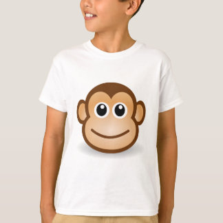 76-Free-Cute-Cartoon-Monkey-Clipart-Illustration T-Shirt