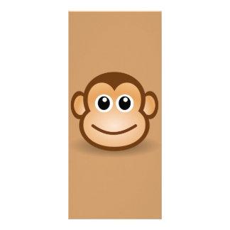 76-Free-Cute-Cartoon-Monkey-Clipart-Illustration Lonas Personalizadas
