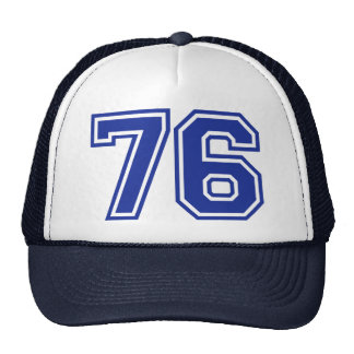 76 - number trucker hat