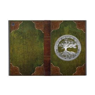 [76] Silver Celtic Tree of Life iPad Mini Cover