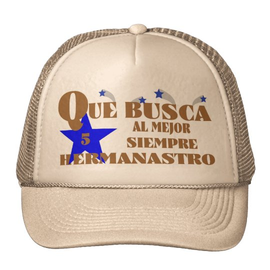 76Best  Ever 5-Star Hermanastro Cap Trucker Hat
