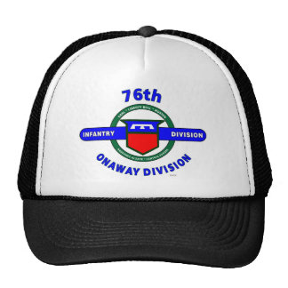 "76TH INFANTRY DIVISION ""ONAWAY DIVISION"" TRUCKER HAT"