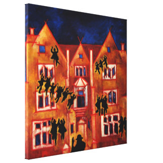 770 Eastern Parkway Gallery Wrapped Canvas
