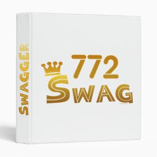 772 Florida Swag 3 Ring Binder